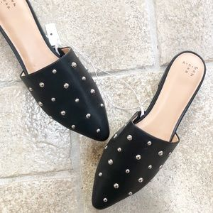 NWT A New Day Kari Studded Mules 11